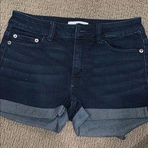 BP cuffed Jean Shorts